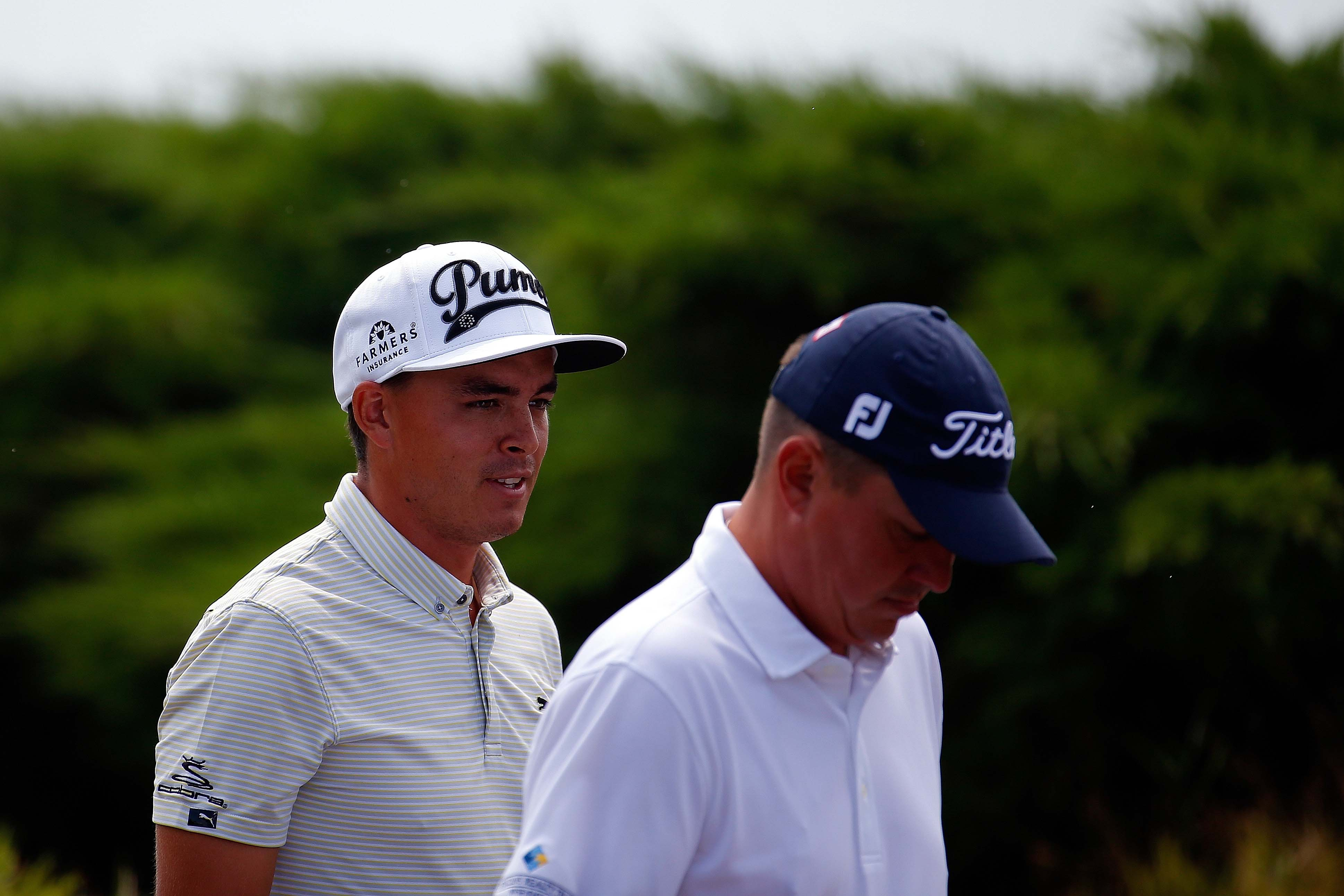 Rickie Fowler and Jason Dufner