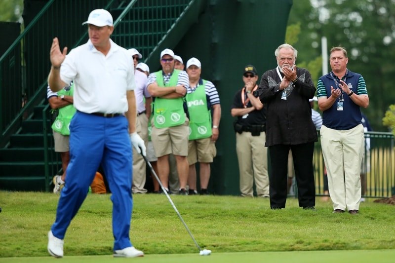 Herb Kohler and Ernie Els
