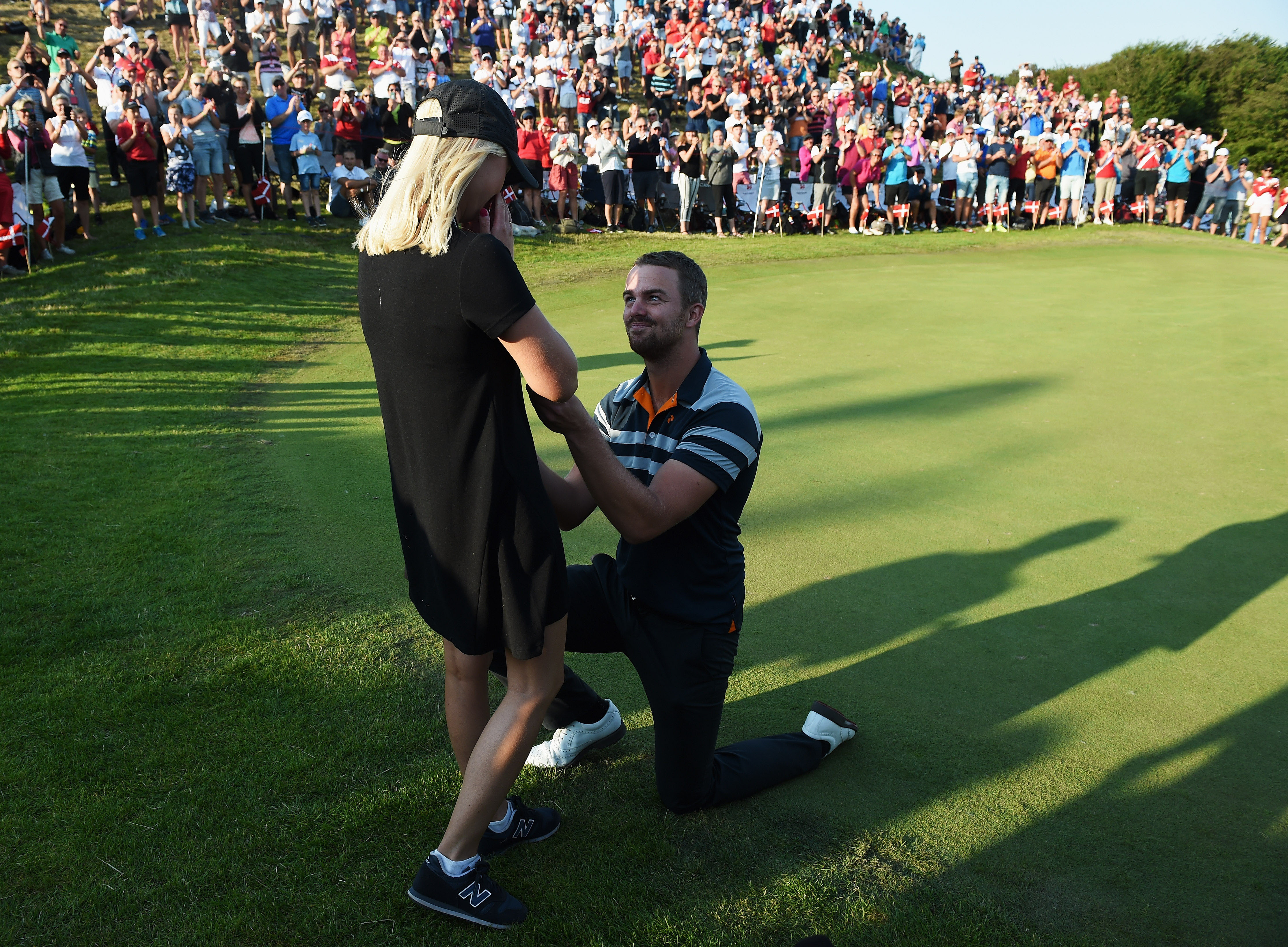 Proposal in Euro Tour event
