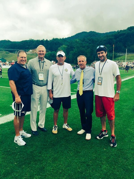 Bubba Watson, Bill Belichick, Sean Payton and Jerry West