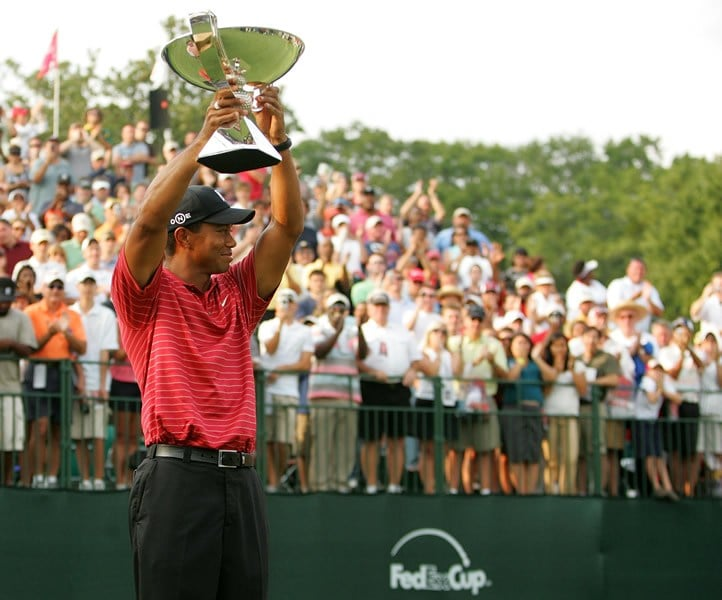 2007 FedExCup champion: Tiger Woods