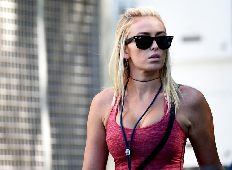 ... or Paulina Gretzky. The end.