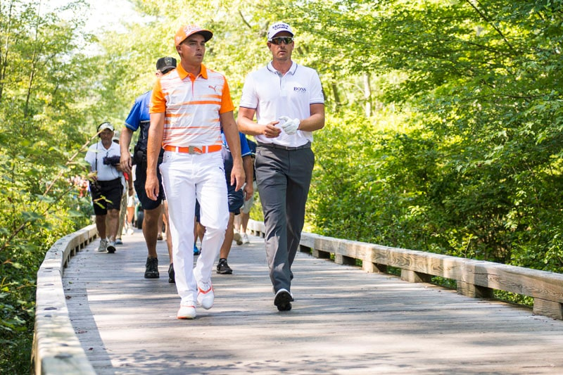 Rickie Fowler and Henrik Stenson