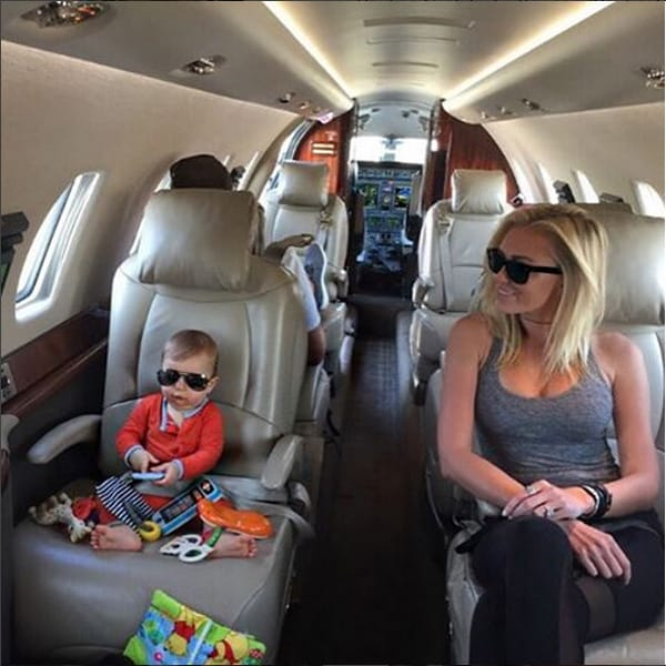 Tatum Gretzky Johnson and Paulina Gretzky