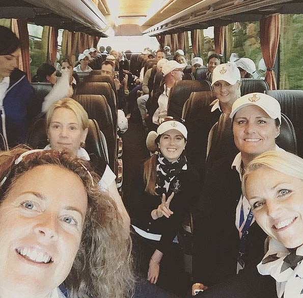 European Solheim Cup team