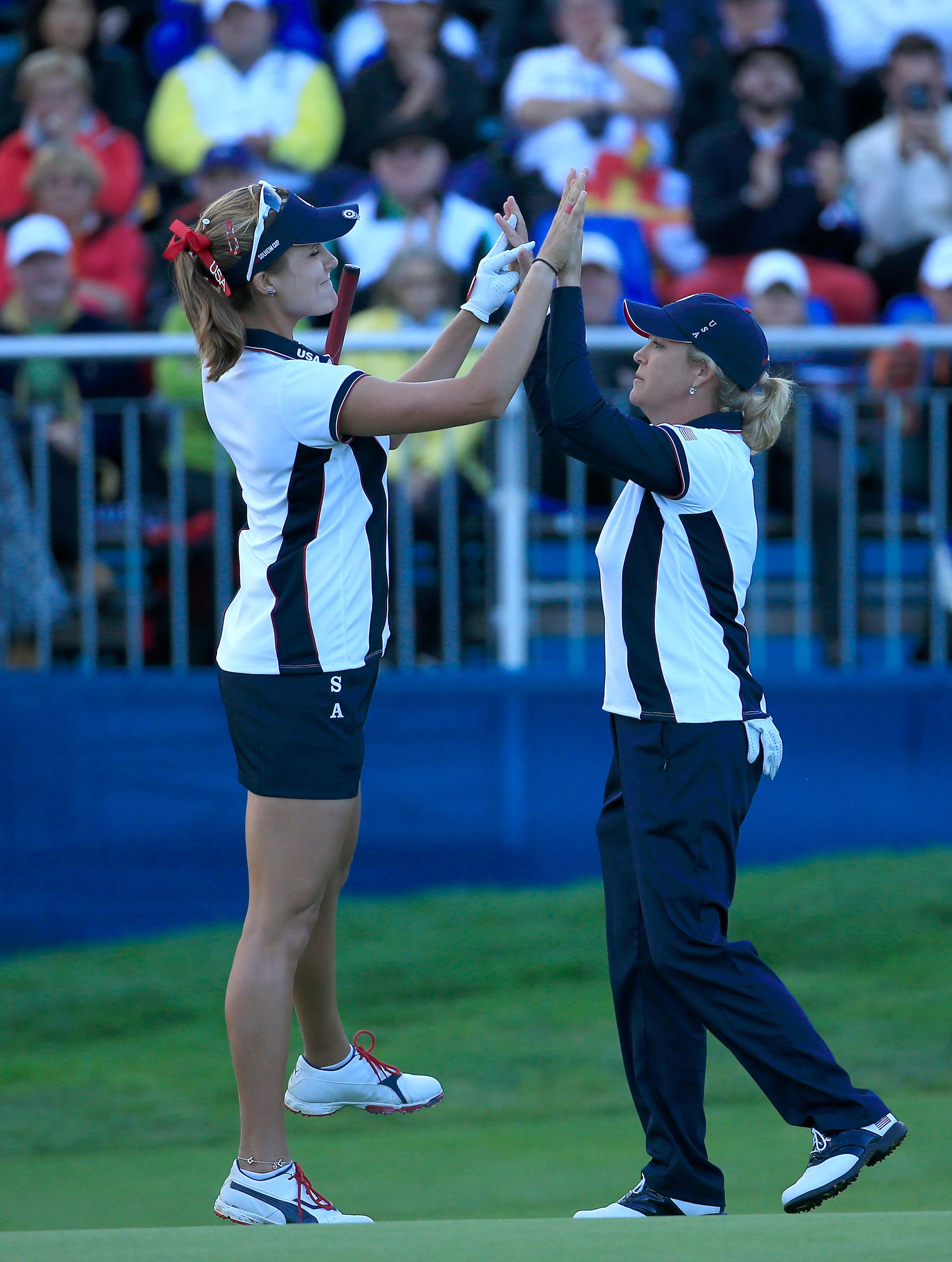 Cristie Kerr and Lexi Thompson