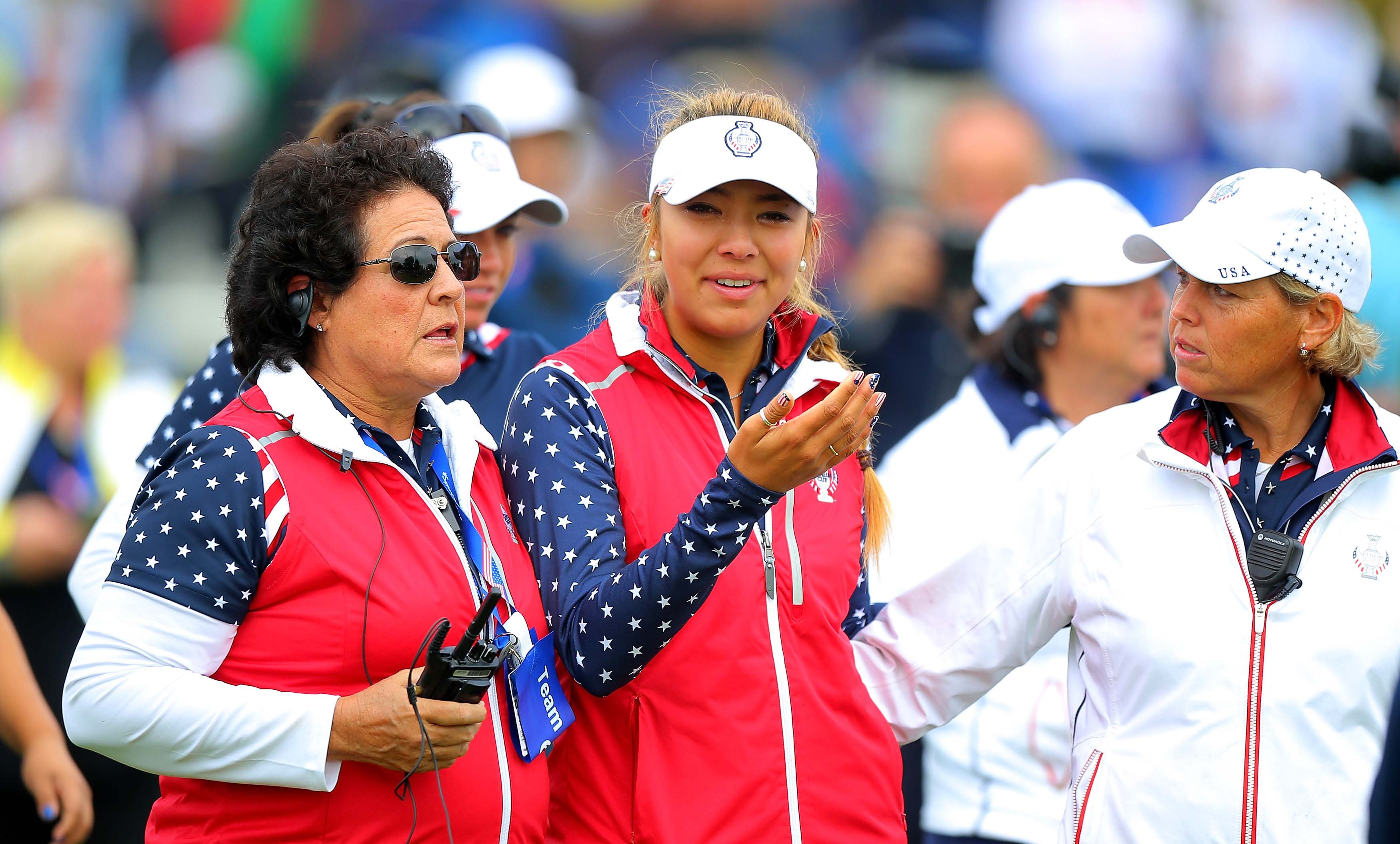 Alison Lee and Nancy Lopez