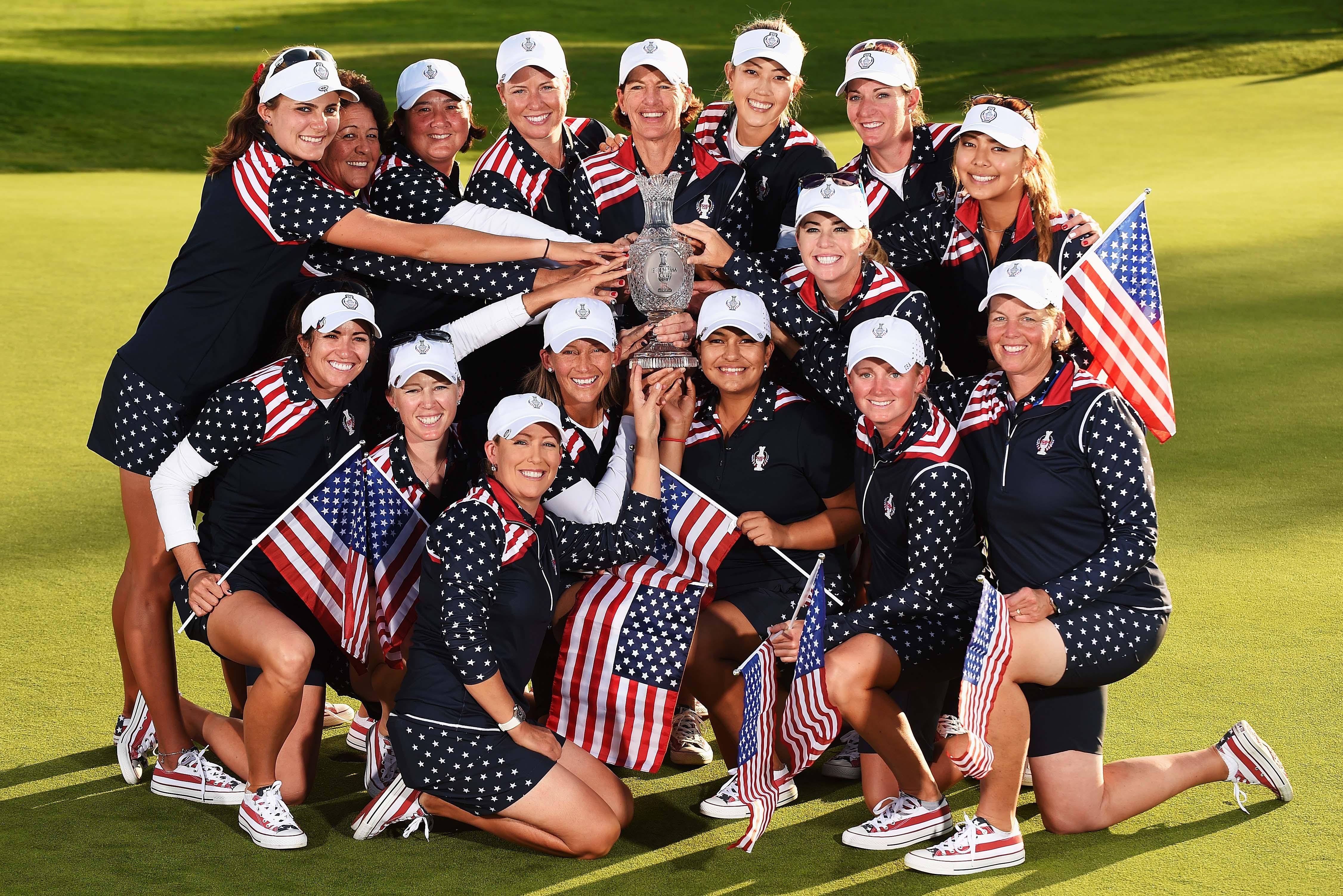 U.S. Solheim Cup team