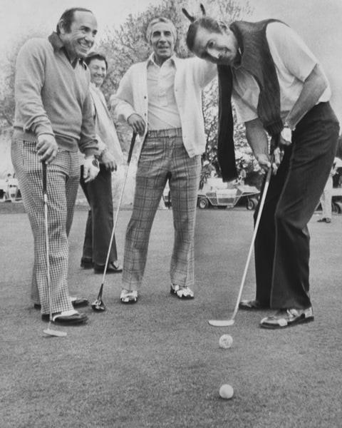 Yogi Berra, Phil Rizzuto and Billy Martin