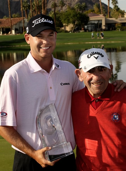 Bill Haas and Yogi Berra