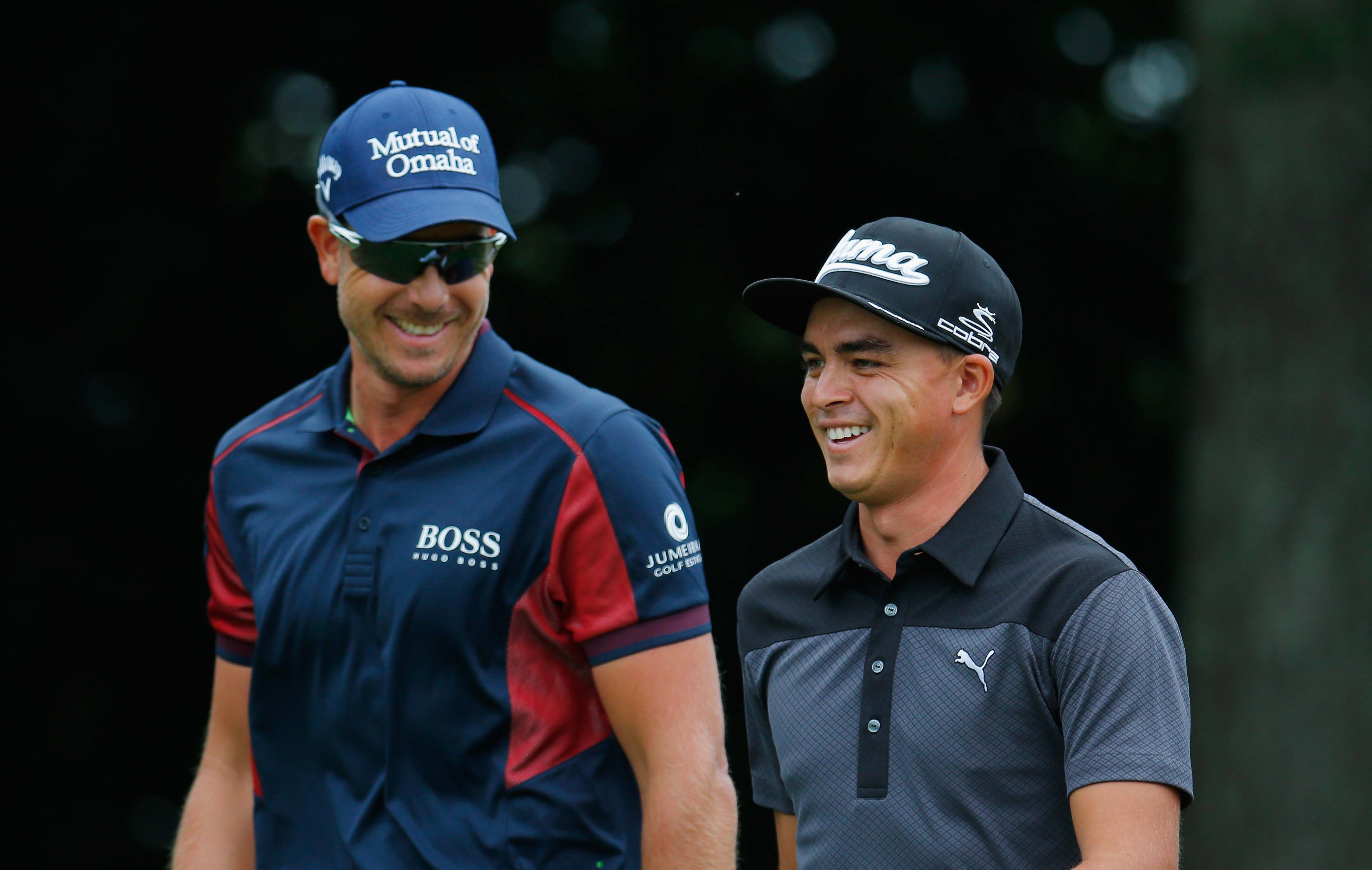 Henrik Stenson and Rickie Fowler