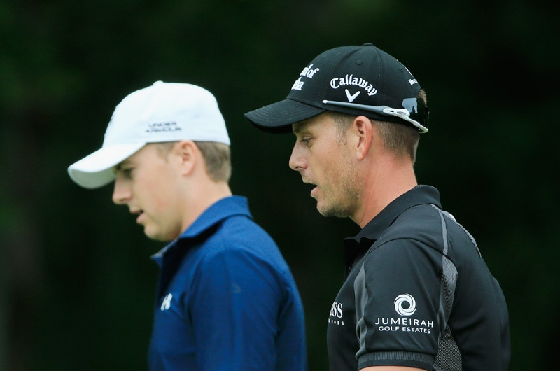Jordan Spieth and Henrik Stenson