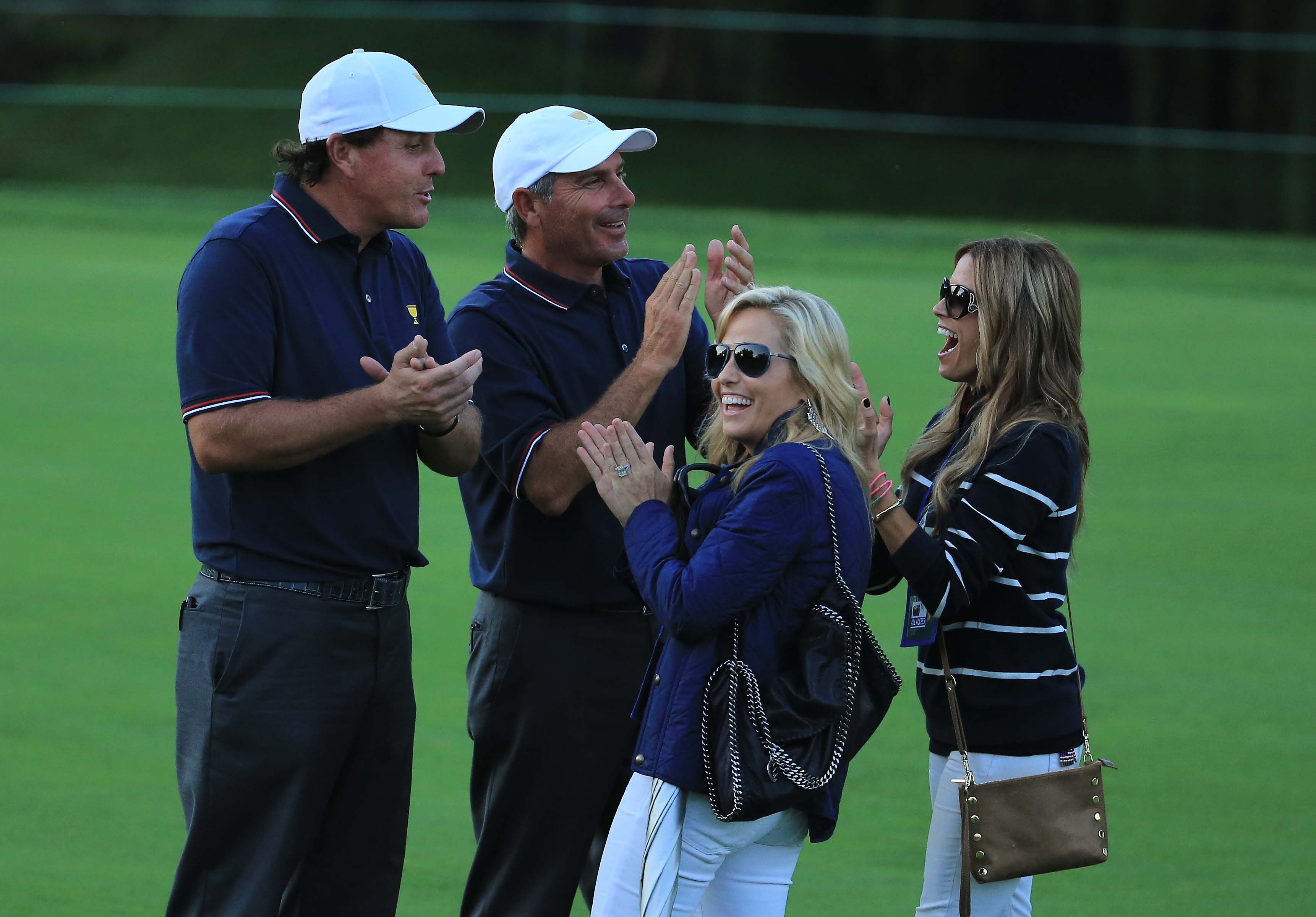Phil Mickelson and Fred Couples