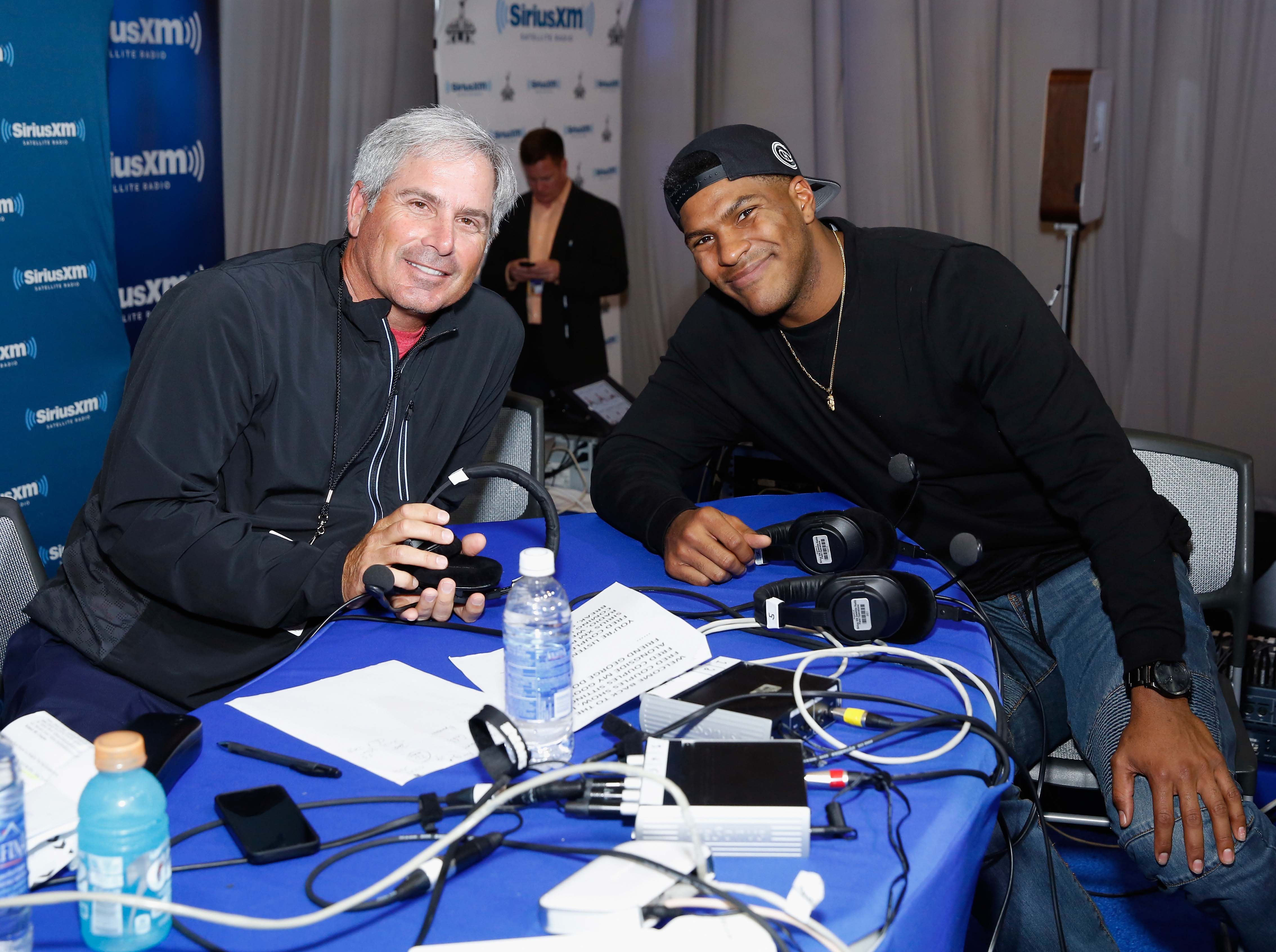Fred Couples and Julius Thomas