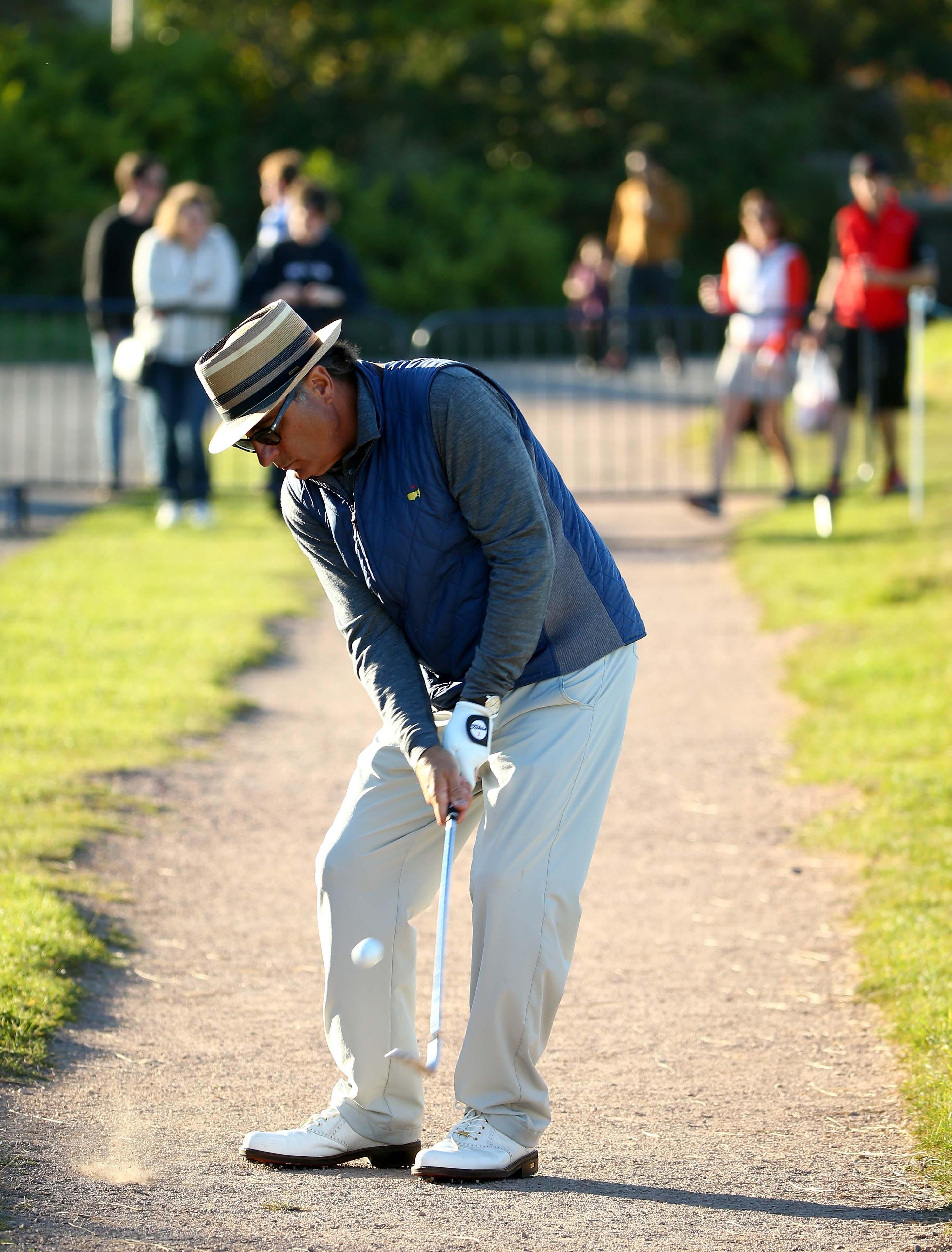 Golfing by land ...