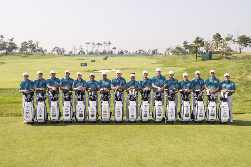 International Presidents Cup team