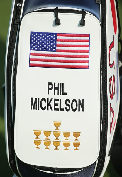 Phil Mickelson's Presidents Cup bag