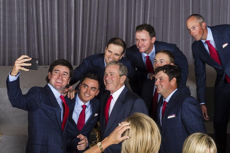 U.S. Presidents Cup team, George W. Bush