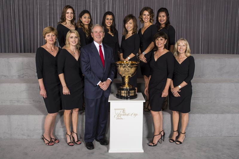 International wives and girlfriends, George W. Bush