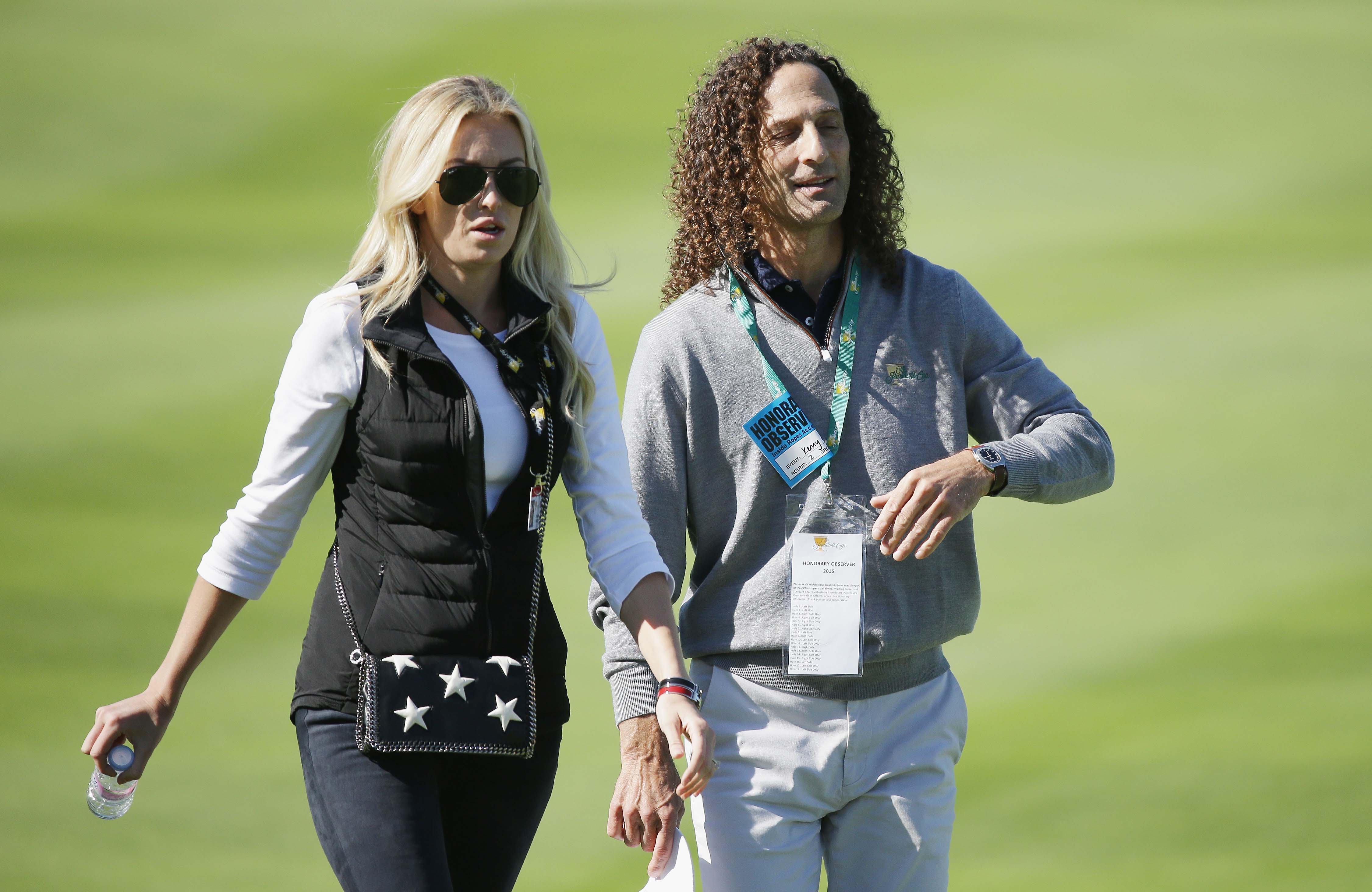 Paulina Gretzky and Kenny G