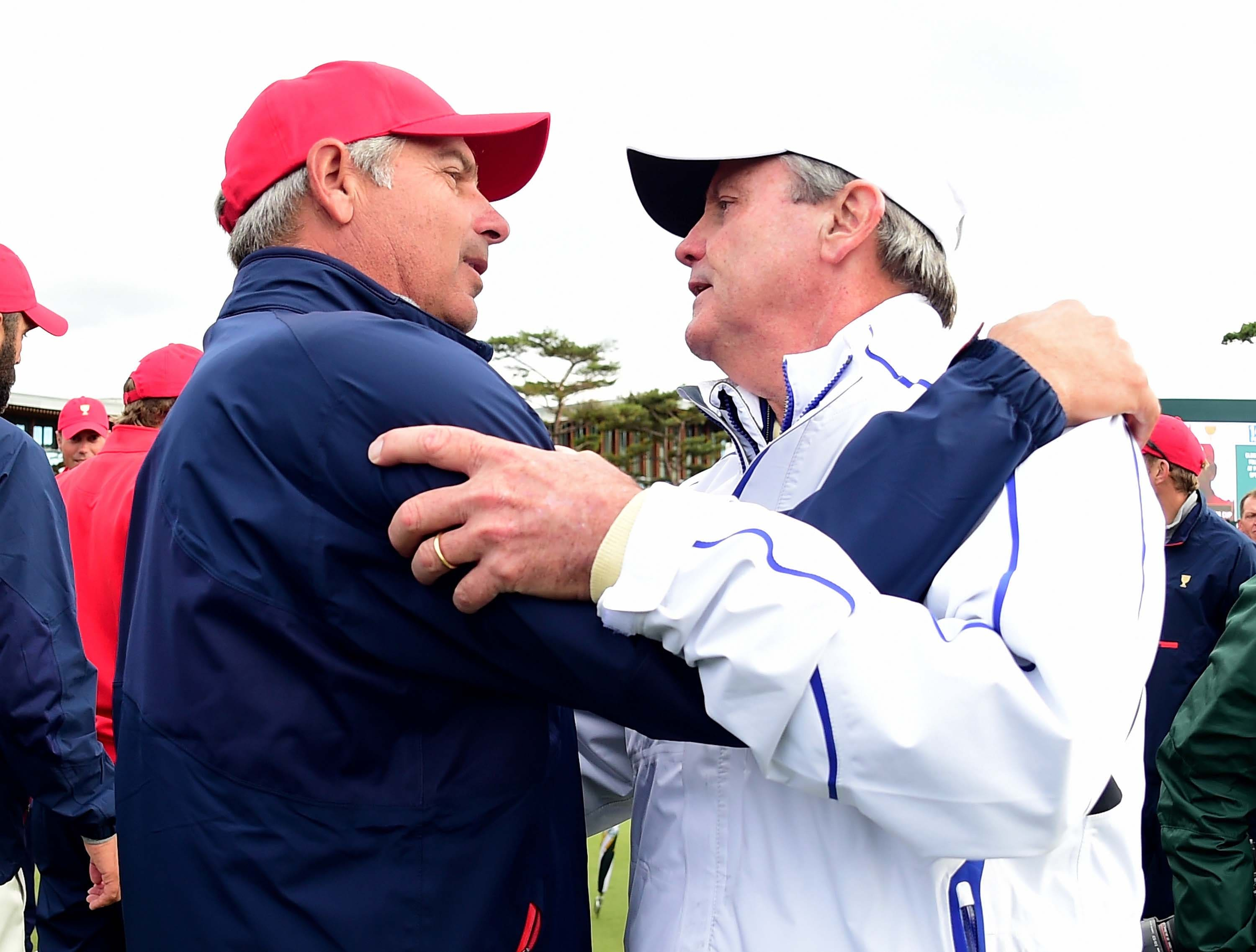 Fred Couples and Mark McNullty