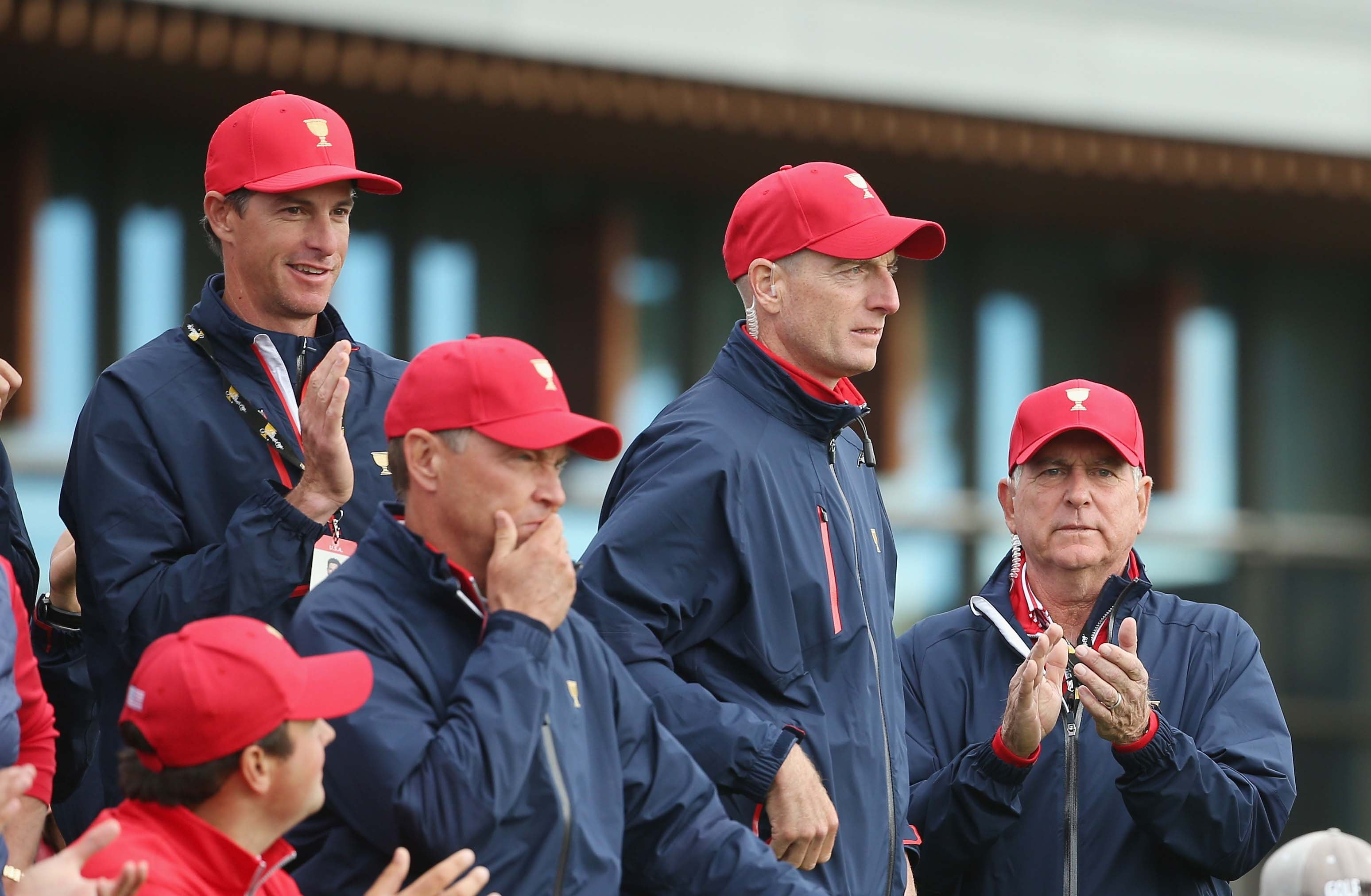 U.S. Presidents Cup team