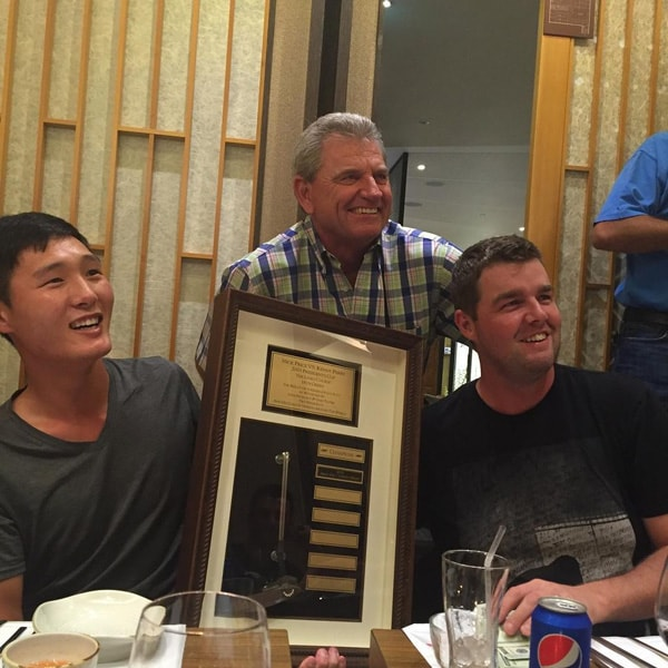 Danny Lee, Nick Price and Marc Leishman