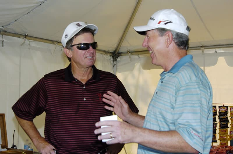 Steve Spurrier and Hale Irwin