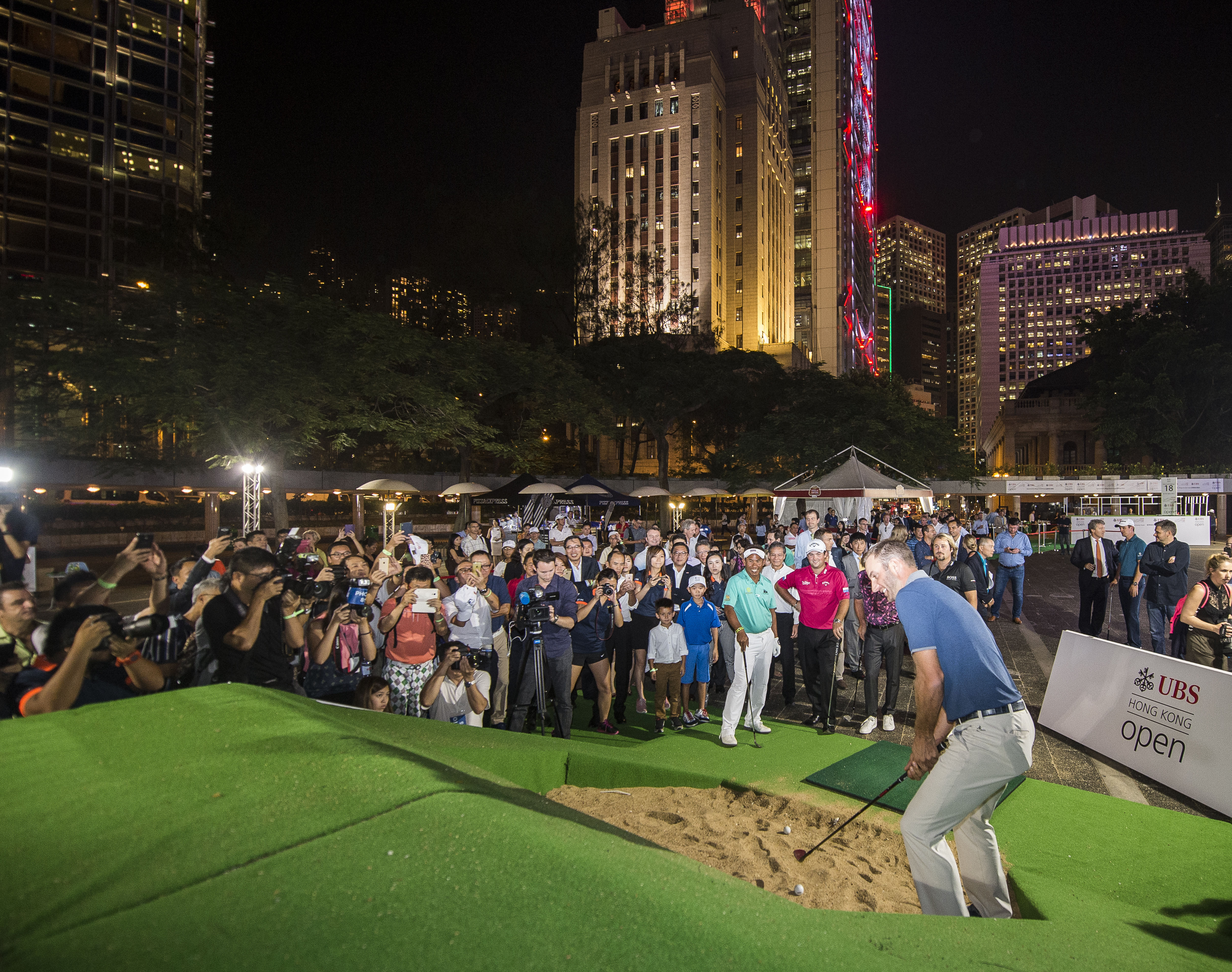 The next event will be night putting