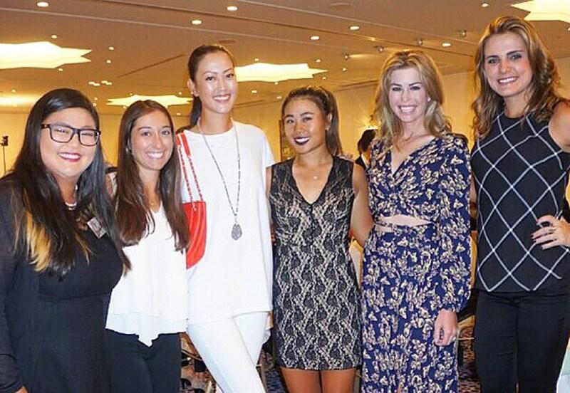 Christina Kim, Marina Alex, Michelle Wie, Danielle Kang, Paula Creamer, Lexi Thompson
