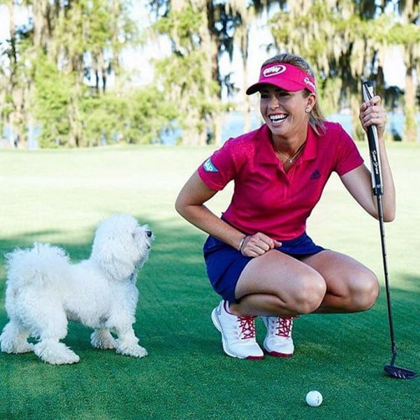 Paula Creamer and Studley