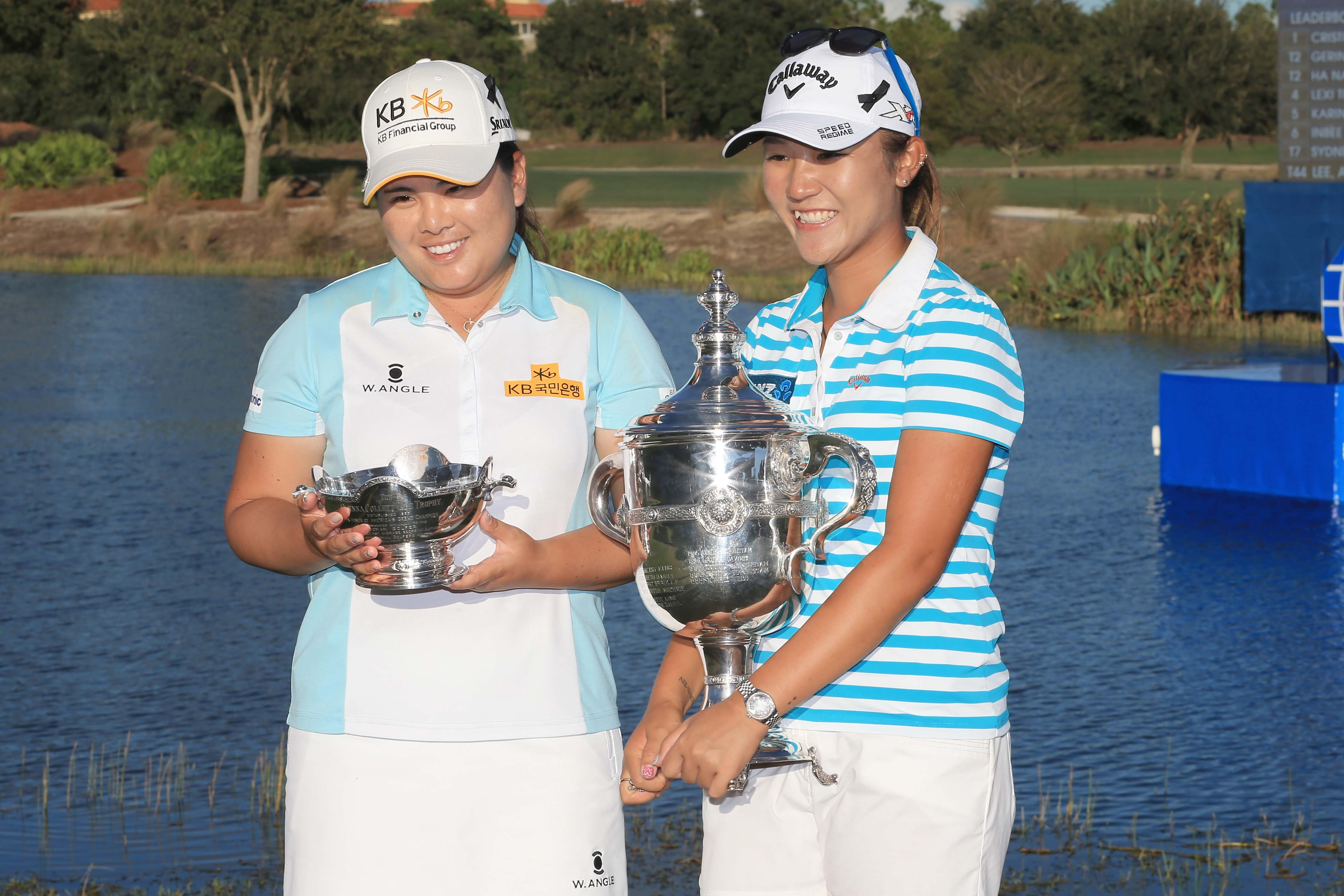 Inbee Park and Lydia Ko