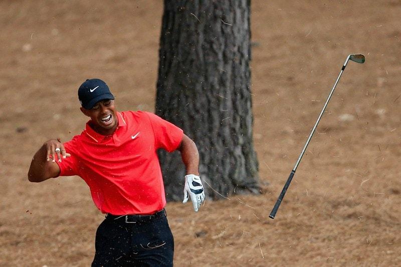 8. Dr. Tiger pops wrist back in
