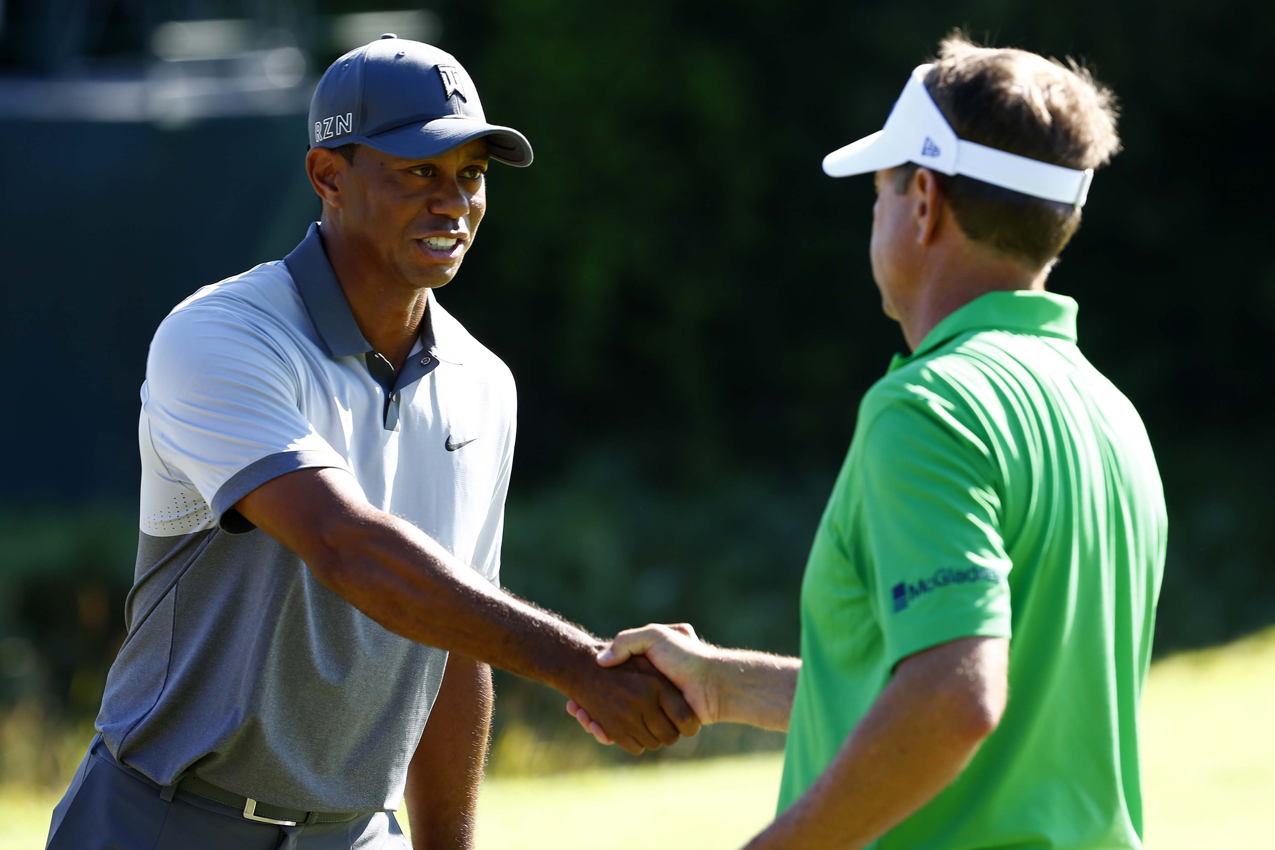 Tiger Woods calling Davis Love during the Prez Cup to volunteer as an assistant captain for the Ryder Cup