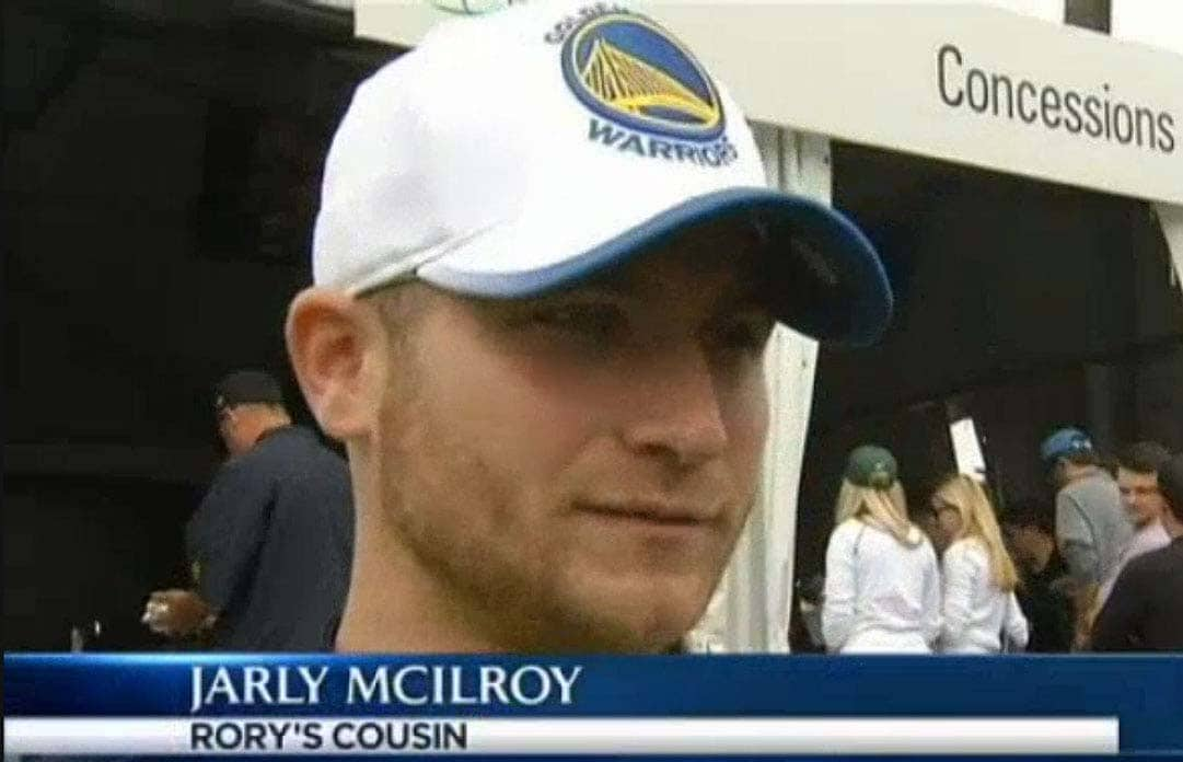 News station interviews Rory McIlroy's non-existent cousin