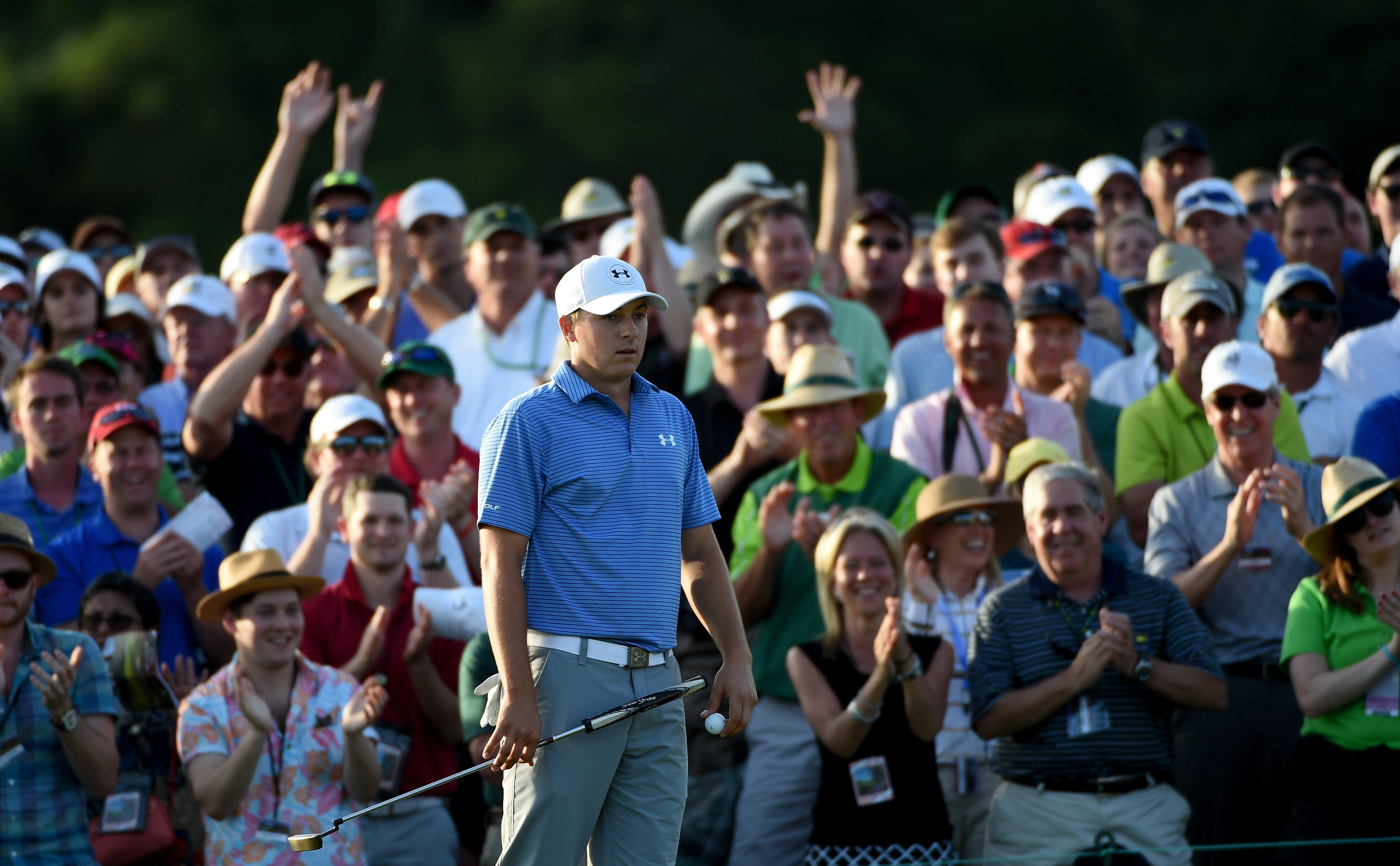 4. Makes big up-and-down on Saturday in Masters