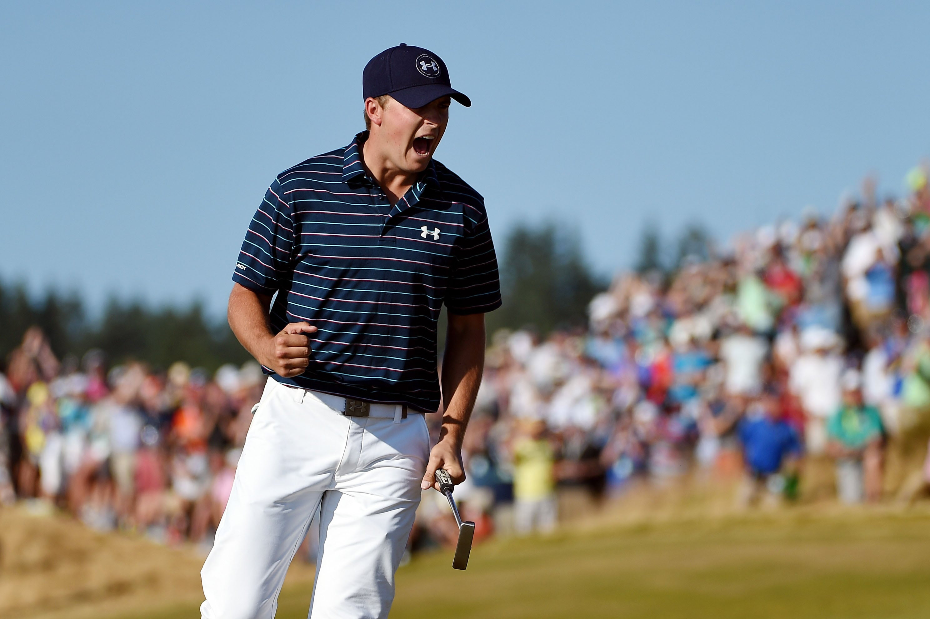 5. Makes crucial putt at 16th hole in U.S. Open