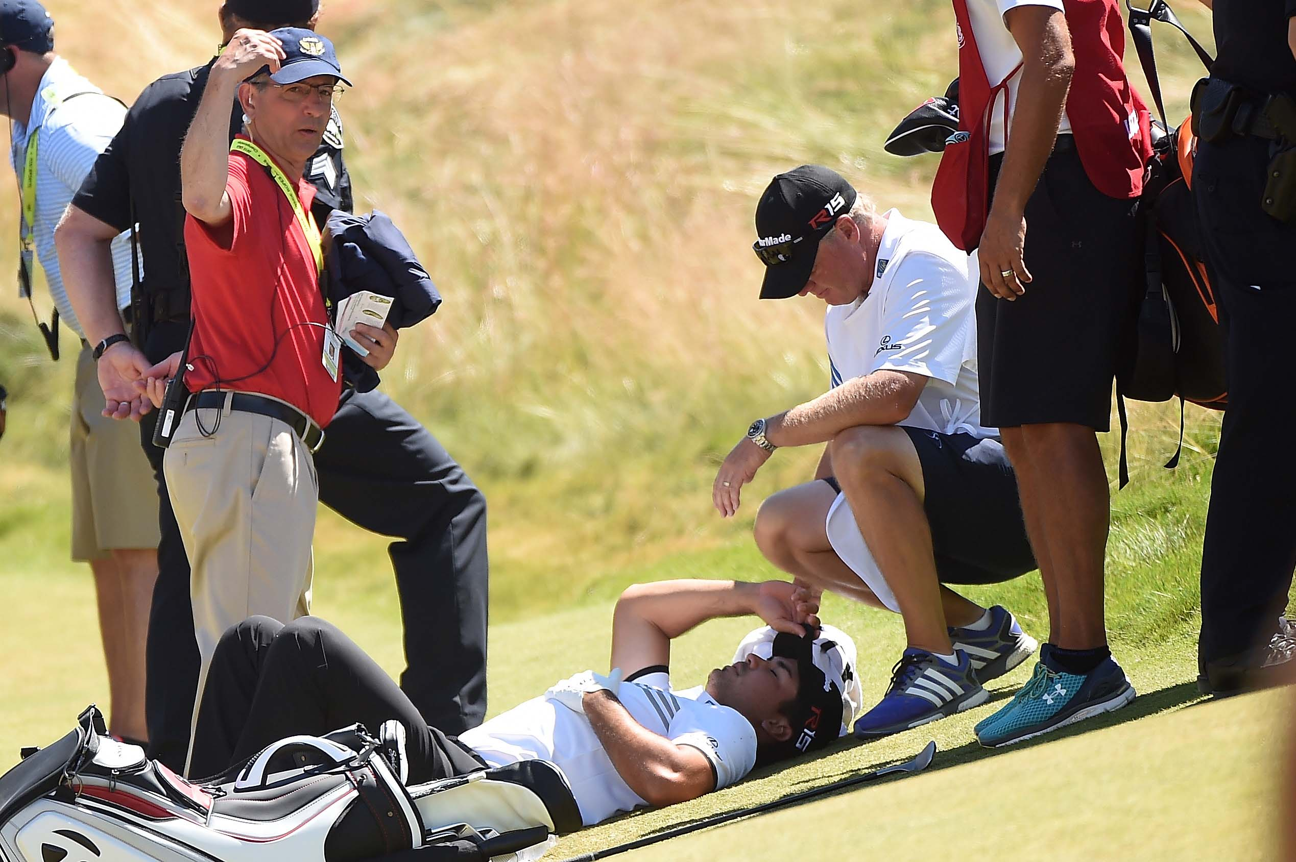 4. Day collapses at U.S. Open
