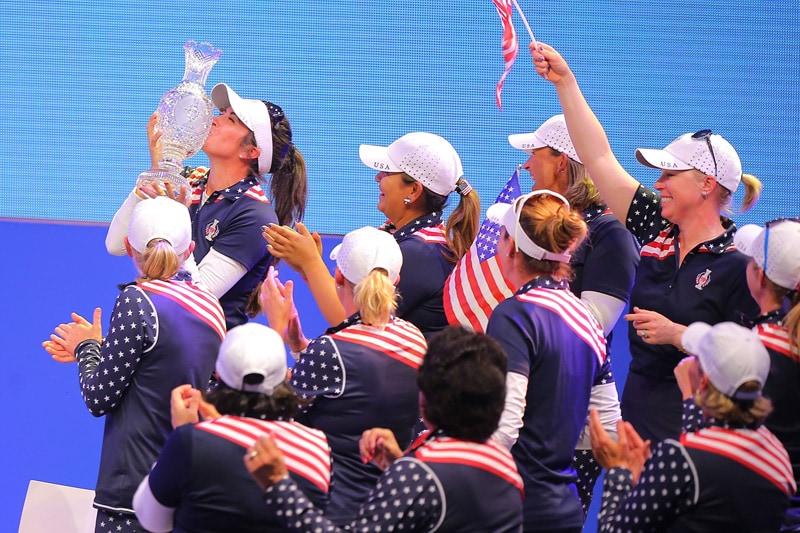 4. Gerina Piller's putt helps U.S. win Solheim Cup