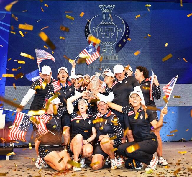 9. U.S. rallies to win Solheim Cup