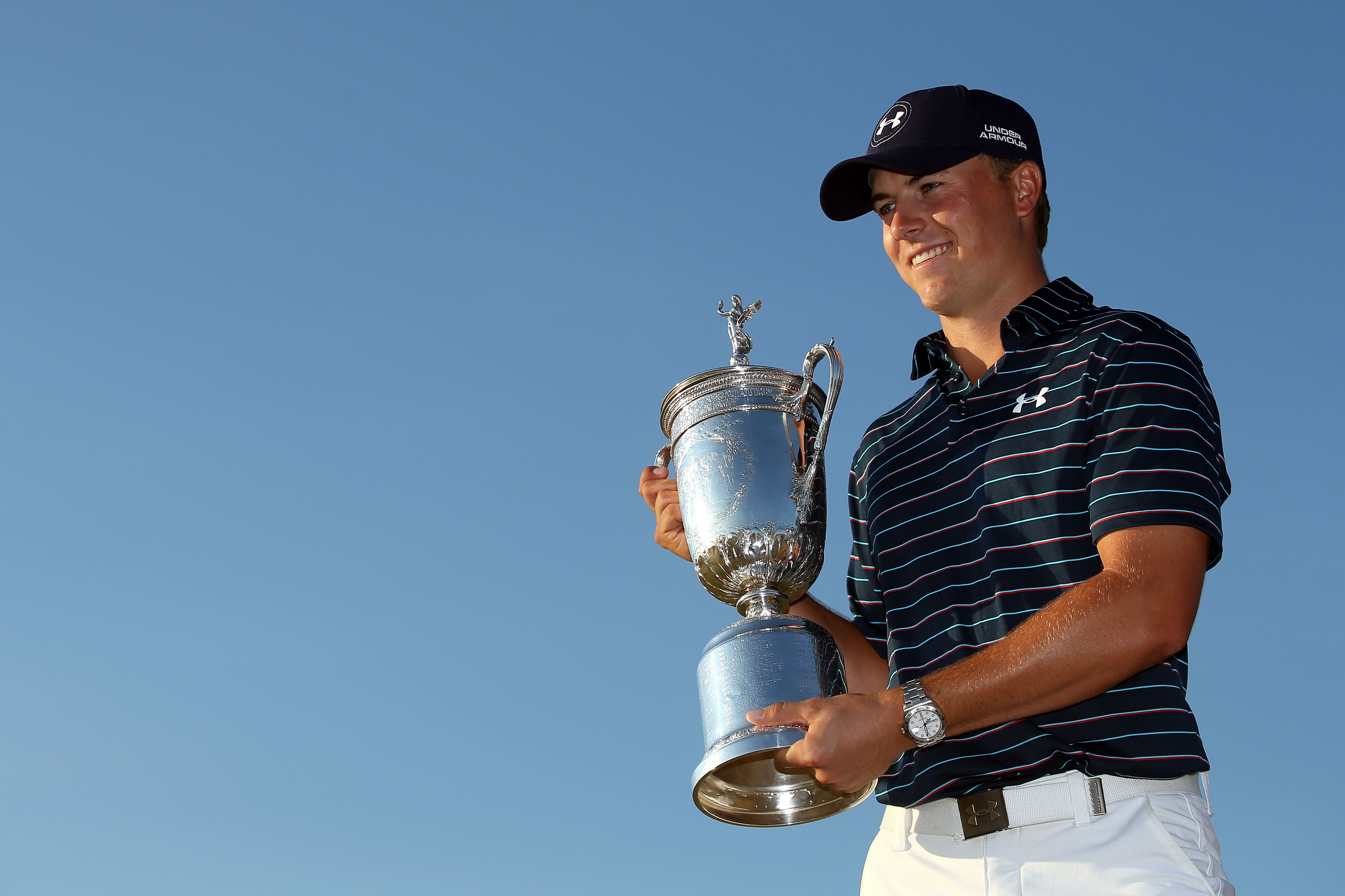 2. Jordan Spieth wins the U.S. Open