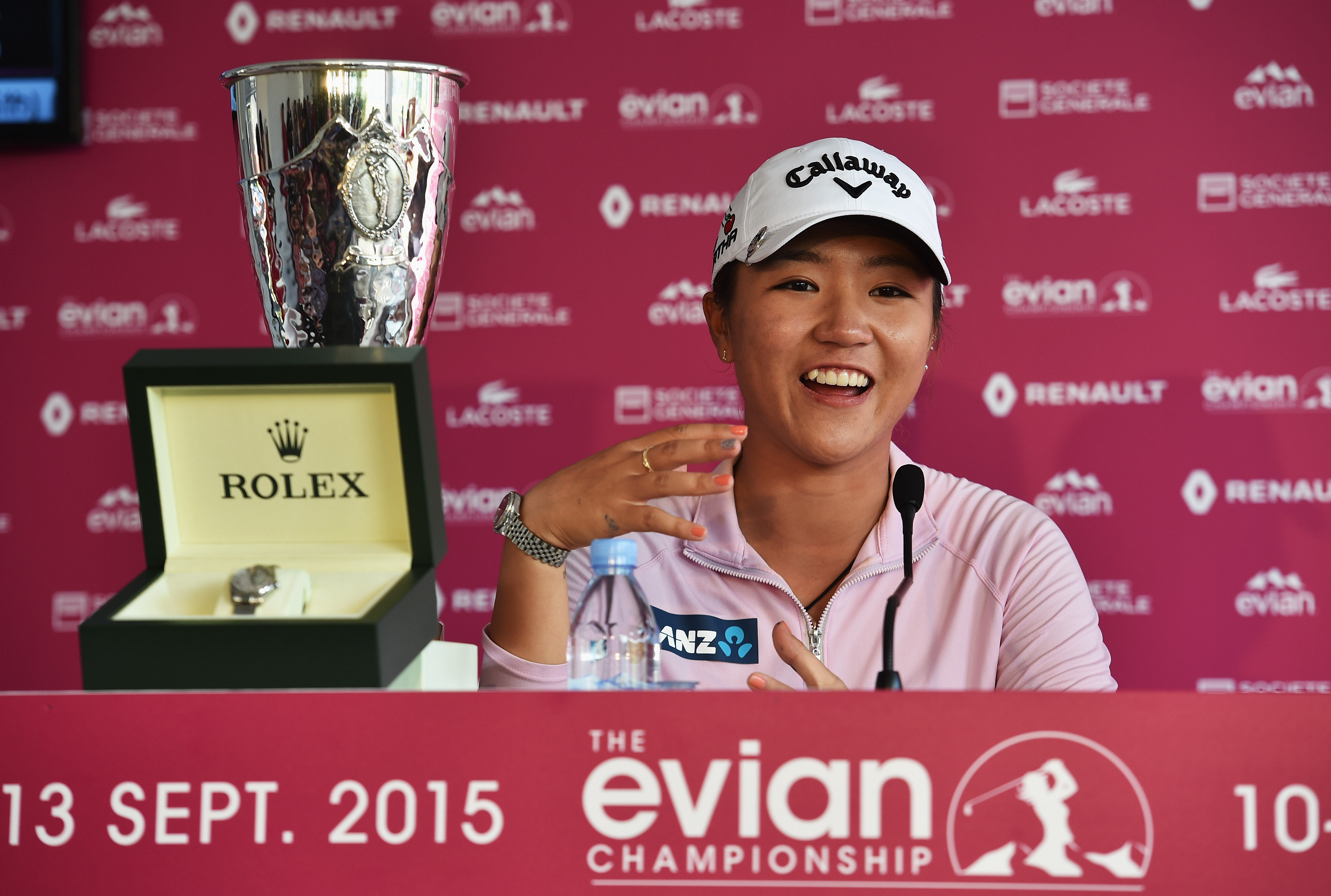 8. Lydia Ko wins her first major