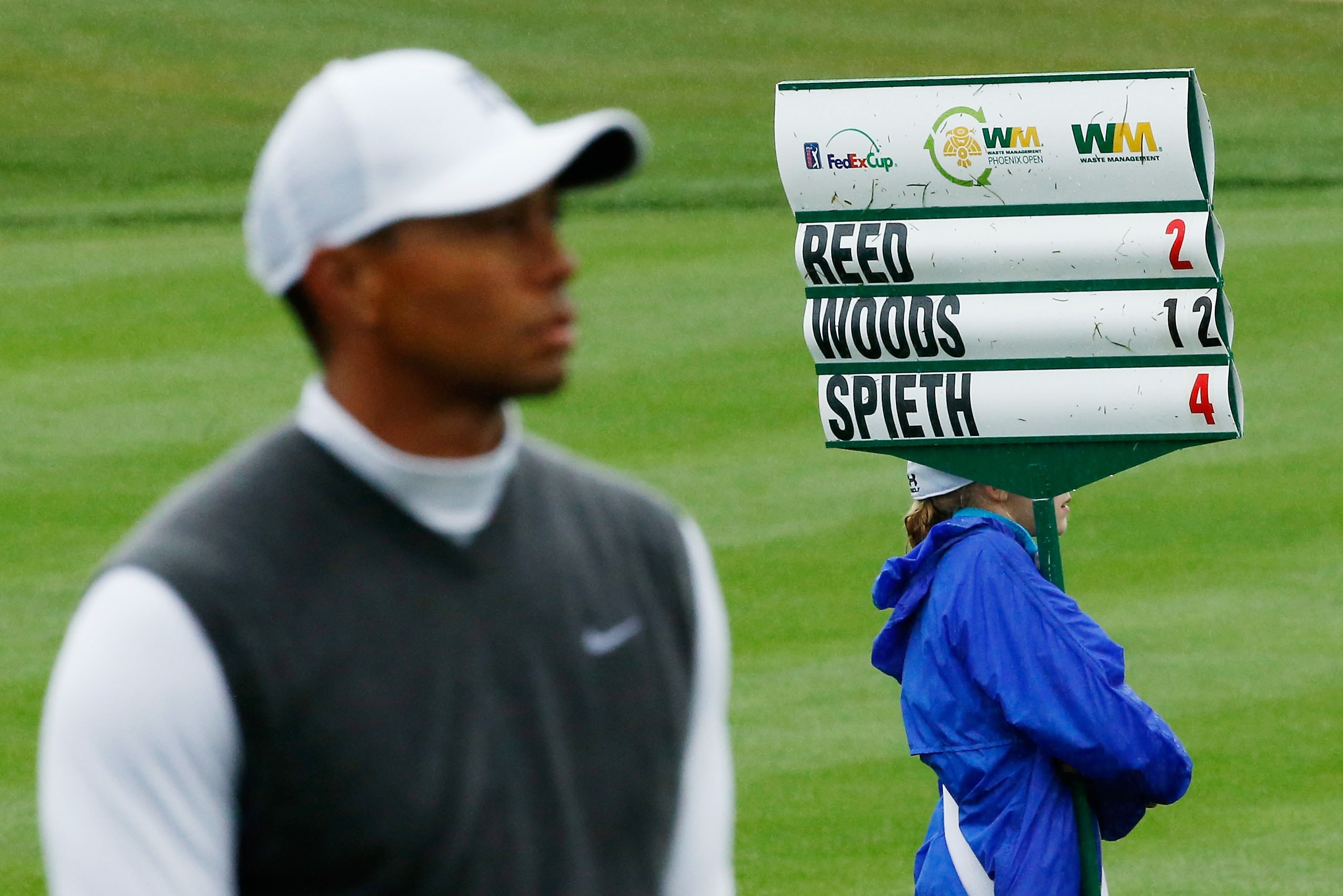 4. 2015: Tiger's 'chip yips'