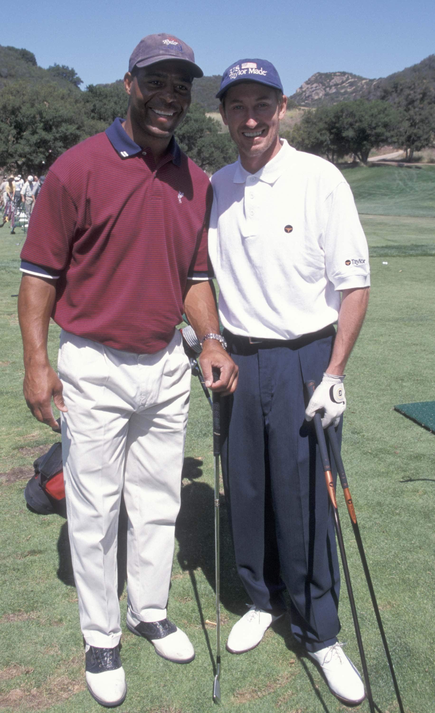 Marcus Allen and Wayne Gretzky