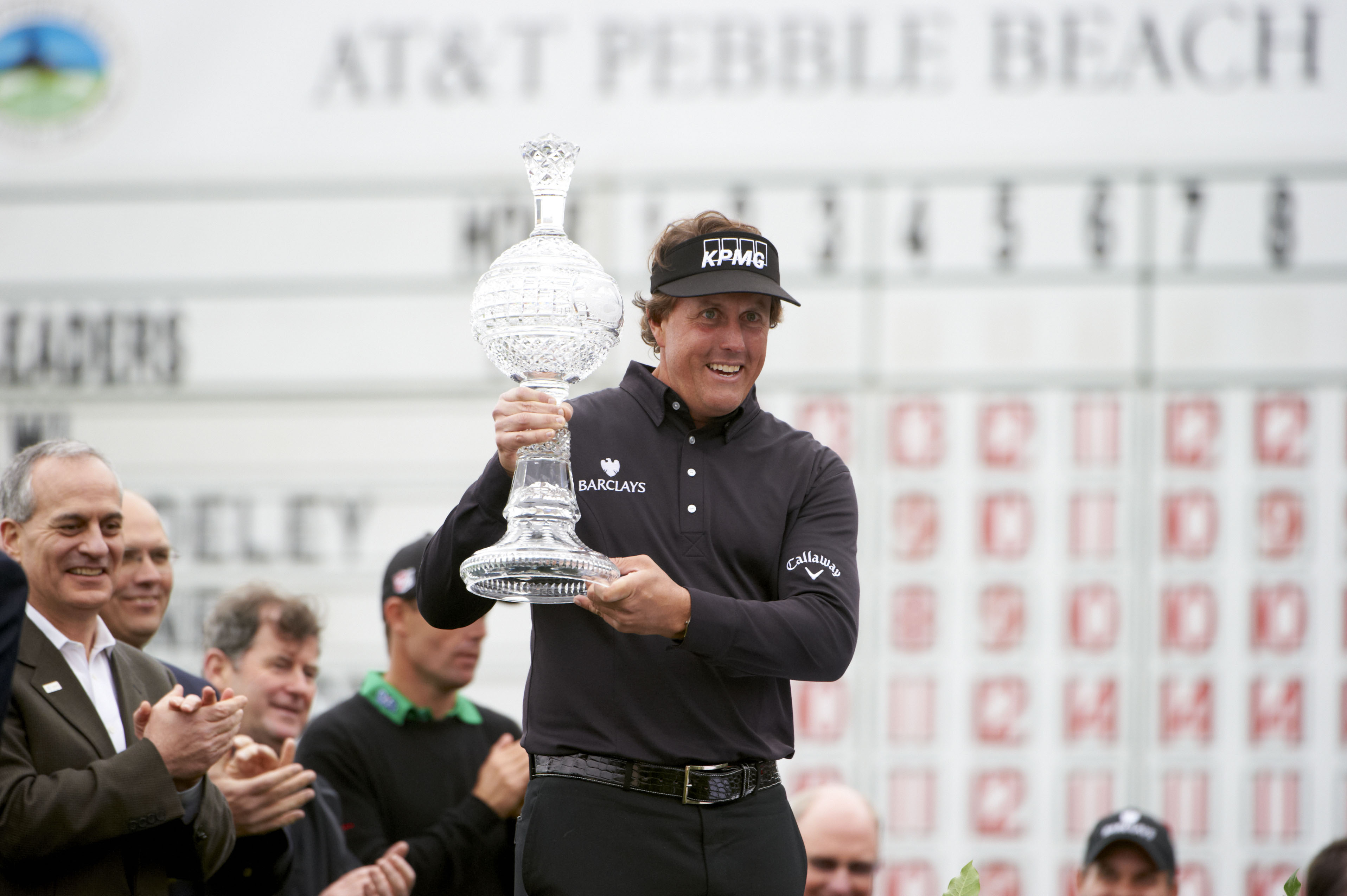 8. 2012: Phil completes the Pebble Slam