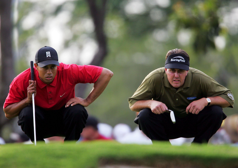 1. 2005: Tiger vs. Phil