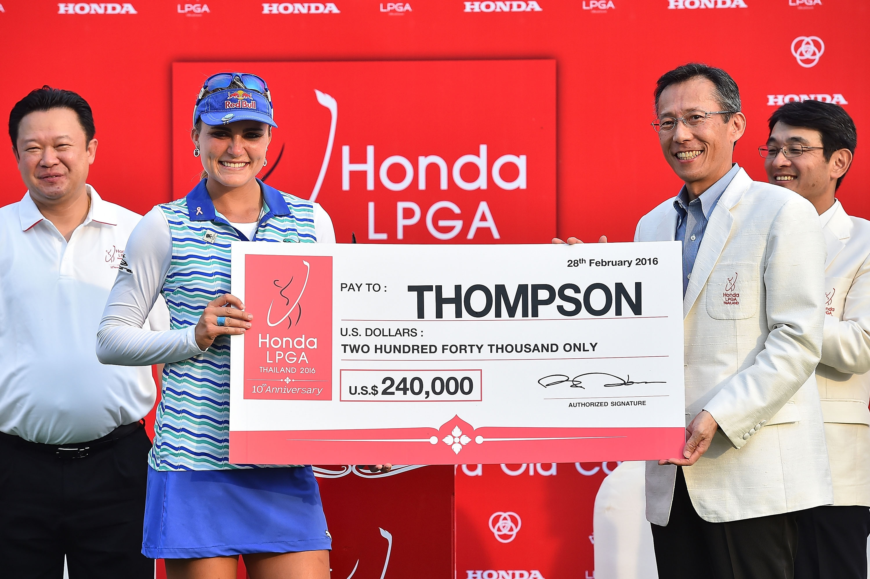 Honda LPGA Thailand: Lexi Thompson