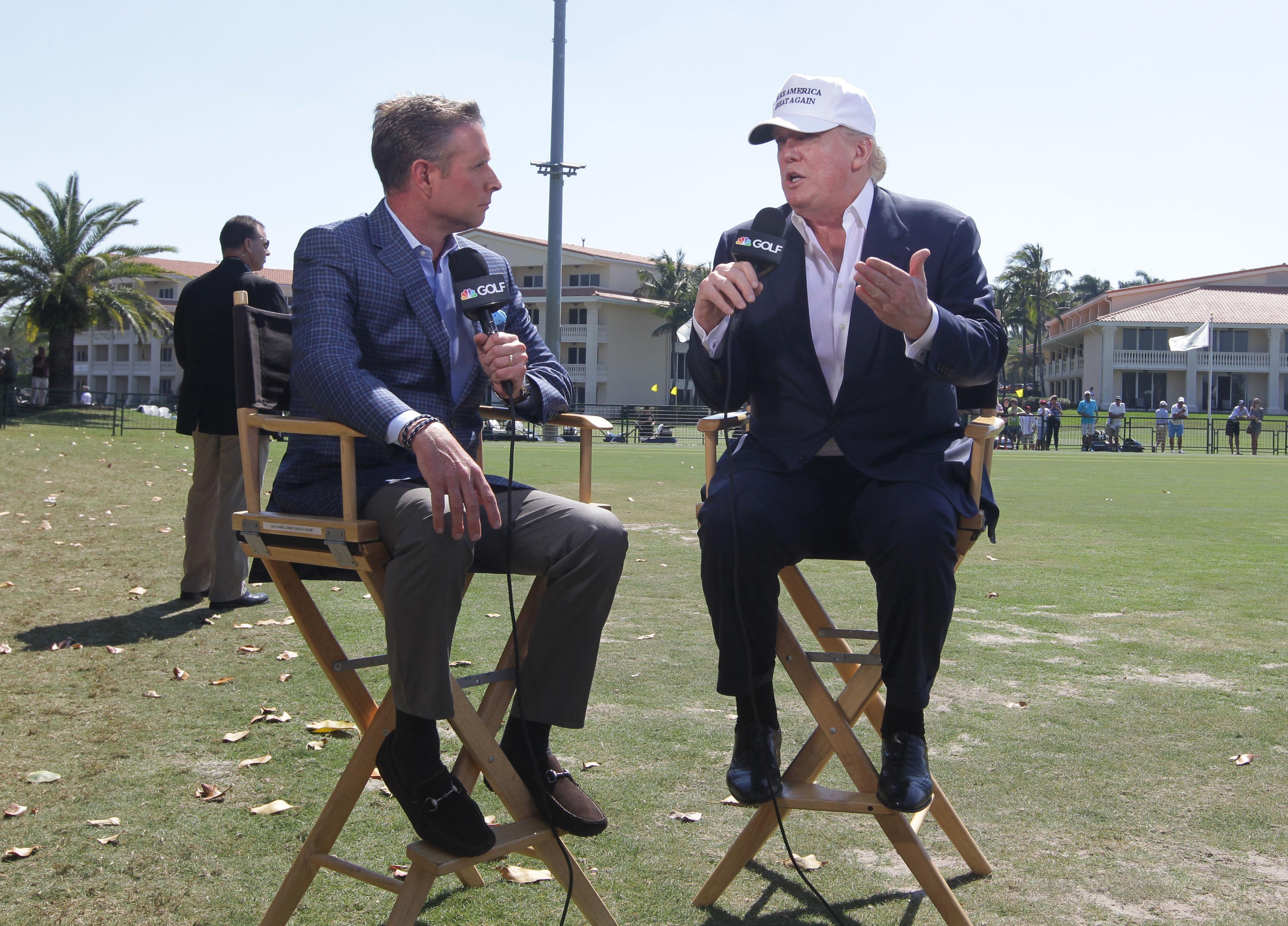 Donald Trump and Gary Williams