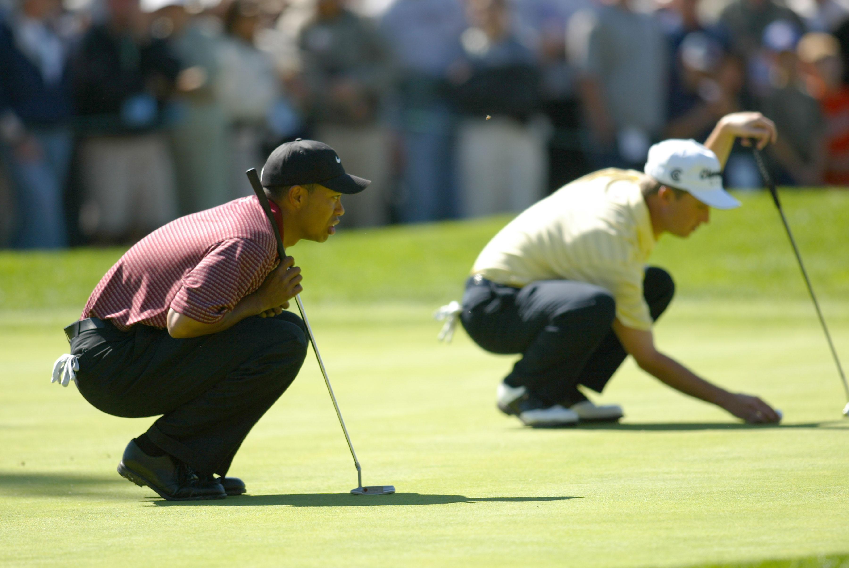 3. 2003: Woods breaks through