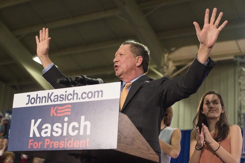 Ohio Governor John Kasich
